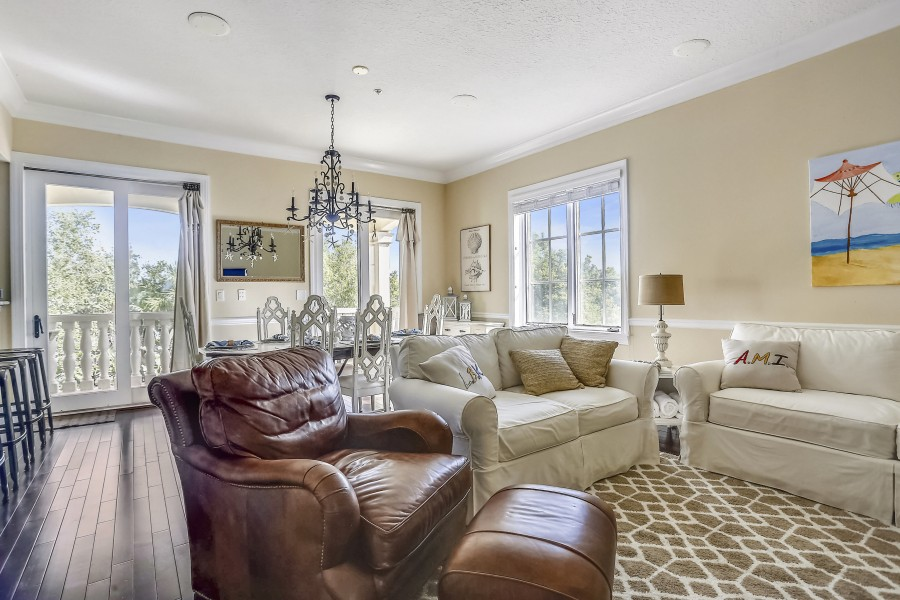 Villa Margarita Living Room on Anna Maria Island, FL