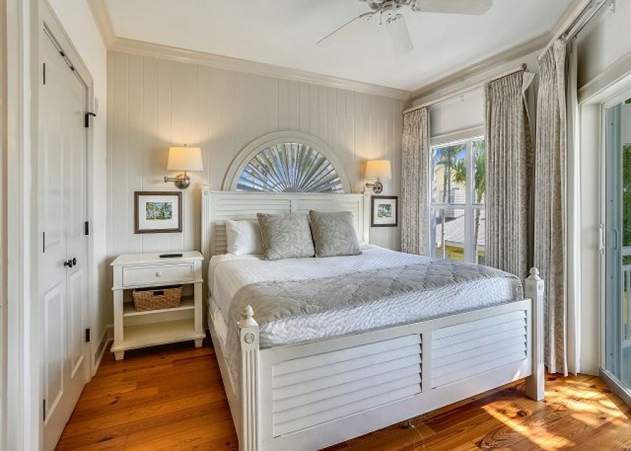bedroom in home on anna maria island