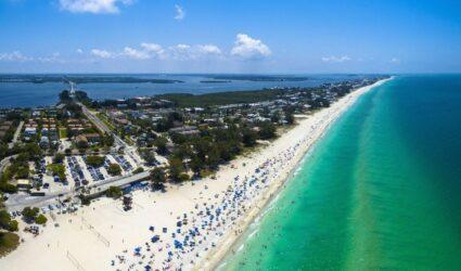 anna maria island beach stretch