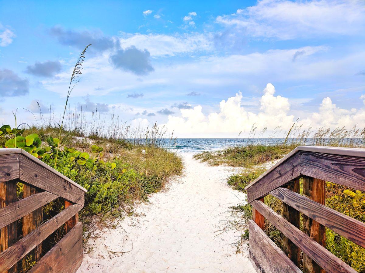 anna maria island beach path